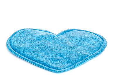 Guinea pig and small animal WATERPROOF pee pad, blue heart