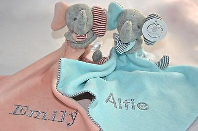 Personalised  Lovely Baby Comforter / Toys/ Soother  Blanket / Baby Shower Gift