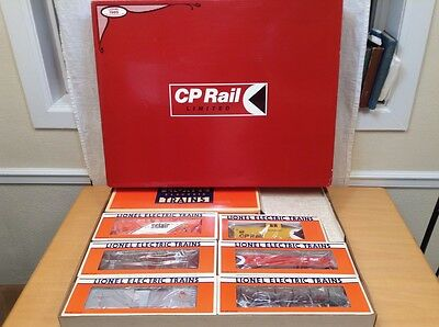 Lionel Canadian Pacific CP Rail Train 1989 Limited Production Edition 6 - 11710