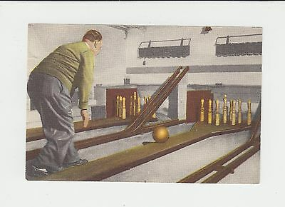 Tenpin Bowling : 1950s Dutch trade card