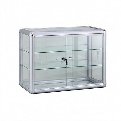 Counter Top Display Case Comes With Lock And Two Shelves Brand New!!!!