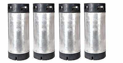 5 Gallon Pin Lock Reconditioned 'Corny' Kegs Four Pack -Homebrew - Free Shipping