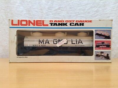 Lionel 6 - 9279 Magnolia Three Dome Tank Car 0/027 Scale NIB