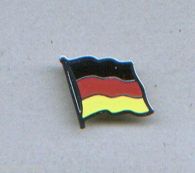 One enamel on metal GERMANY Flag lapel brooch