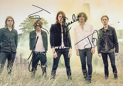 BLOSSOMS HAND SIGNED 12x8 PHOTO CHARLEMAGNE, AT MOST A KISS - TOM OGDEN.