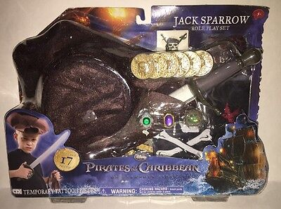 Pirates of the Caribbean on Stranger Tides Jack Sparrow Role Play Set