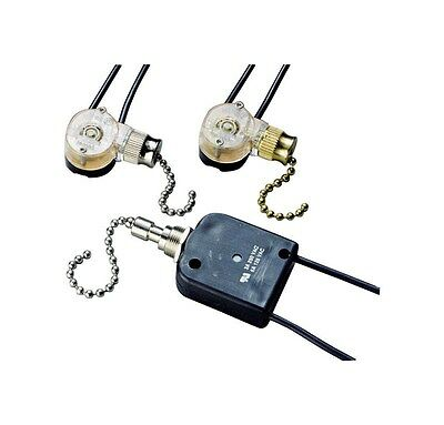 Pull Switch Nckel On/Off Pack 1