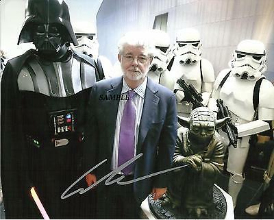 George Lucas #3 Reprint Autographed Signed Picture Photo Darth Vader Star Wars