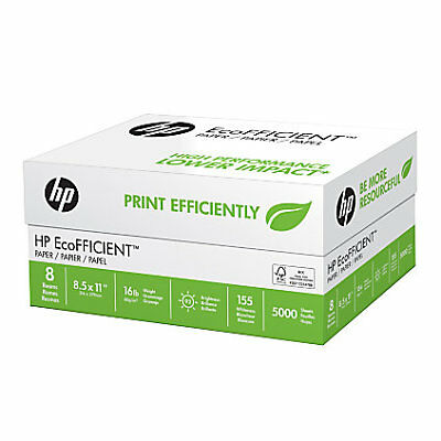 HP Paper EcoFFICIENT Optimized for HP EcoSMART 16lb 8.5x11 92 Bright (216000C)