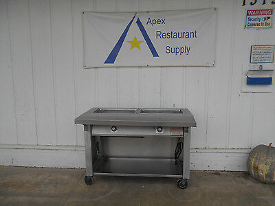 Servolift  2 Pan Electric  Hot Food Table/Steam Table  #1972