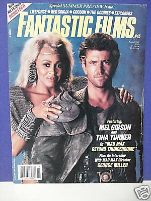 FANTASTIC FILMS MAGAZINE No. 45 AUGUST 1985 MAD MAX