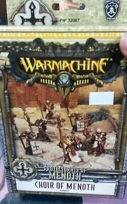 Protectorate of Menoth Choir of Menoth Warmachine 32087 Sealed Miniatures