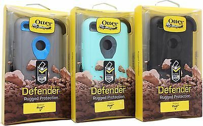 New OtterBox Defender Series & Holster for Google Pixel 5 - 100% Authentic
