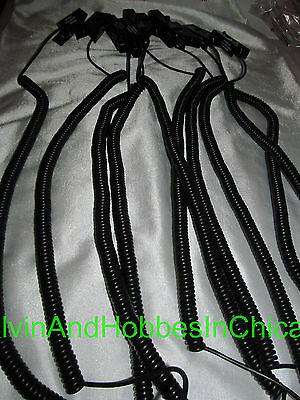 Protex Proclips Security Sensor Cables Tether Clips Black Lot of 10 Excellent