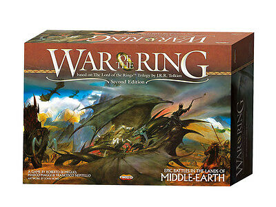War of the Ring - Board Game - 2nd Edition - New & Sealed - Ares