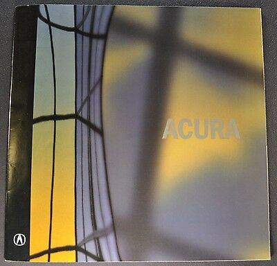 2001 Acura Brochure MDX NSX Integra 3.5RL 3.2CL 3.2TL Excellent Original 01