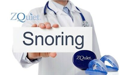 ZQuiet Anti Snore Mouthpiece ALL-NEW 2 STEP COMFORT SYSTEM OFFICIAL PRODUCT