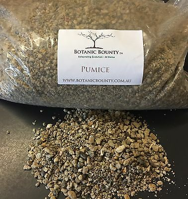 Pumice - Premium Horticulture Propagation Seed Raising Potting Mix Bonsai Cactus