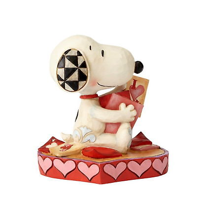 "THE PEANUTS Scultura ""Snoopy zum Giorno san valentino"" Enesco Figura Jim Shore"