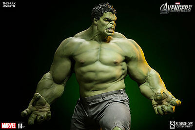 Sideshow The Avengers Hulk Maquette Marvel. No hot toys
