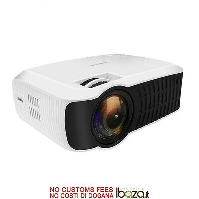 T22 Android 4.4 Portable Intelligent LED Projector 1G/8G 3000 LM WiFi/Bluetooth