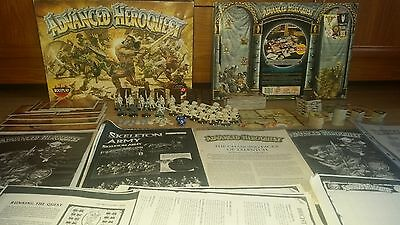 Advanced HeroQuest board game BUNDLE 2; complete board game + EXTRAS [ENG, 1992]