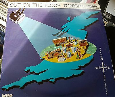 Various Artists Lp Out On The Floor Tonight Inferno