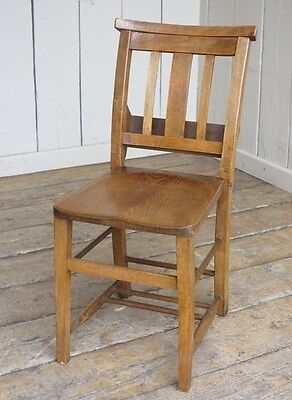 Antique Church Chairs   Traditional Reclaimed Old Antique Chapel Chairs    Seat