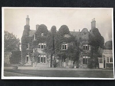 RP Vintage Postcard - #1 Unknown Detached House With Ivy