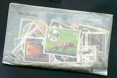 Premade Packet of 300 Different Bulgaria Stamps (Lot #b156)