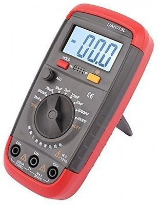 sourcingmap Compact Digital Capacitance Capacitor Meter Pro Tester 0.1pF - with