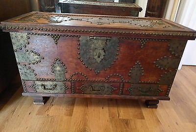 Gothic style Antique Chest **reduced