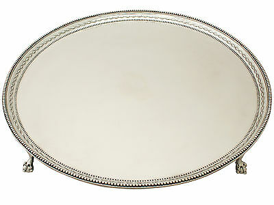 Sterling Silver Salver - Antique George III