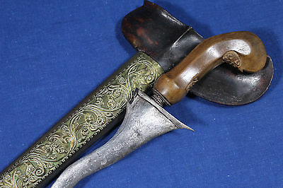 Antique Javanese keris (kris kriss) dagger - Java area 19th early 20th