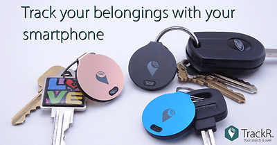 2017New Trackr Tracking Device ,trackR bravo FREE 1st Class Recorded delivery