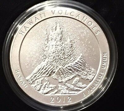 2012 P HAWAII Volcanoes America the Beautiful 5 oz Silver Coin NQ3 Collector's