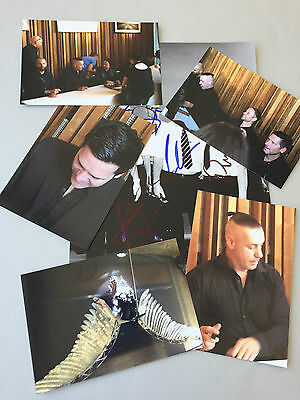 RAMMSTEIN Till Lindemann  In-person 4 x signed photo 8 x 12  including proof