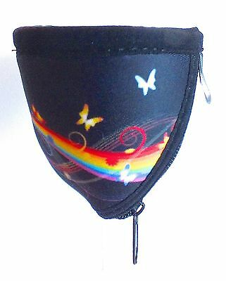 Large Wine Glass Cooler - Rainbow