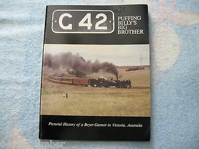 Victorian Railways..G42...Puffing Billys Big Brother..softcover book..as new