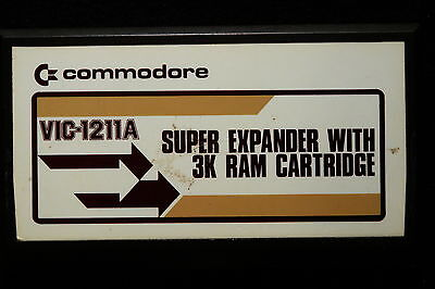 Commodore 1211A Super Expander With 3K Ram  Vic 20 Vic-20 Cartridge Box C