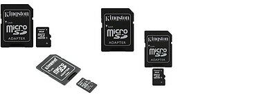 kingston 8gb memory cards photograph cameras+adapters class 4 micro sd sdhc new