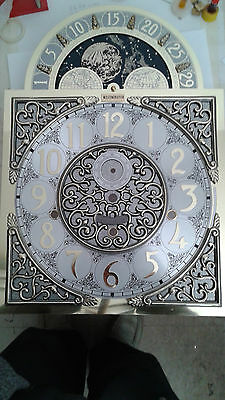 Westminster -Hermle Grandfather clock dial for Hermle 1161 Cable movement.