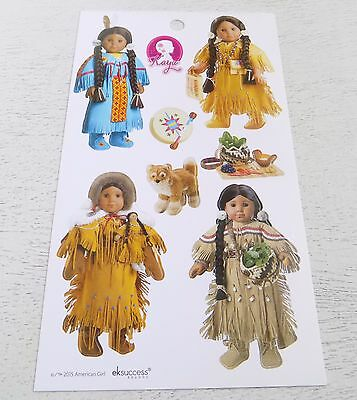 NEW! American Girl Stickers Kaya Doll Stickers Back to School Beforever