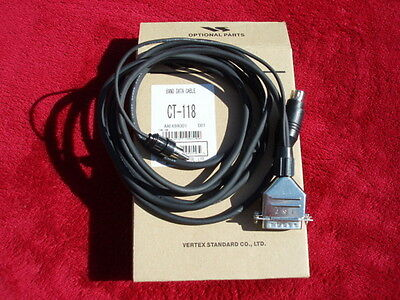Yaesu Ct-118 Band Data Cable Brand New Ct118 Links Ft-950 Ft-450 To Quadra Amp