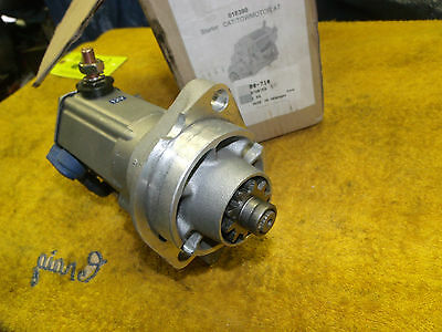 CAT Towmotor 80-710 018390 starter NEW also Clark Yale Toyota 123531 T26 10tooth