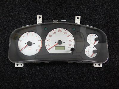 Mitsubishi Lancer Evolution Dash Cluster - WHITE Face - CN9A CP9A Evo 4 5 6 TME