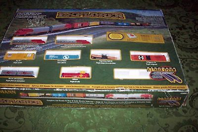 Bachmann Santa Fe Explorer N scale train set, EZ track #24008 VG W/ORIG BOX