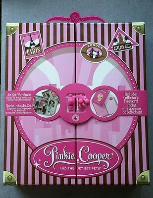 Pinkie Cooper Jet Setting Case, New In Box.