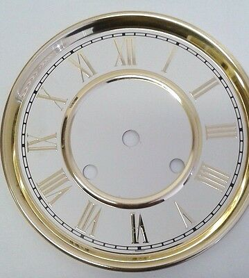 Hermle clock dial for 131 movement 150mm diameter