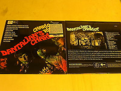 DANTALIAN'S CHARIOT-chariot rising-LP reissue of 1967-psychedelic-wah wah+Insert
